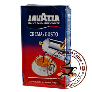 Lavazza Crema e Gusto, Молотый кофе, 250 г.