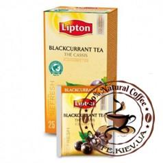 Lipton Blackcurrant Tea (Черная смородина), 25 x 1,6 г.