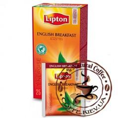 Lipton English Breakfast (Английский завтрак), 25 x 2 г.