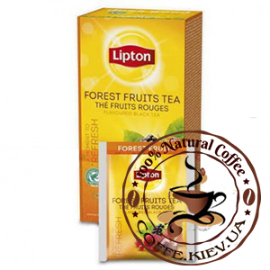 Lipton Forest Fruits (Лесные ягоды), 25 x 2 г.