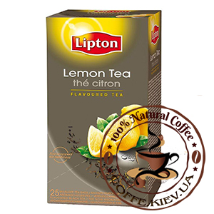 Lipton Lemon Tea (Лимон), 25 x 2 г.