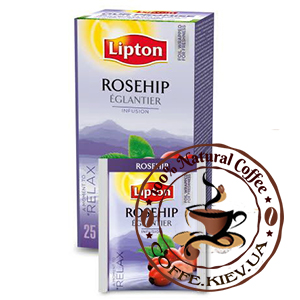 Lipton Rosehip (Шиповник), 25 x 2,5 г.