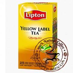 Lipton Yellow Label (Черный классический), 25 x 2 г.