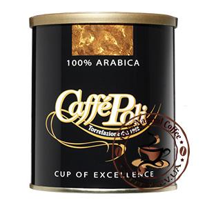 Caffe Poli 100% Arabica, Молотый кофе, 250 г