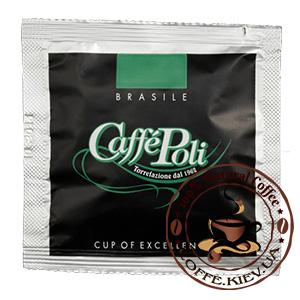 Caffe Poli Monodosa Brazilia, Монодозы, 100 шт., 700 г.