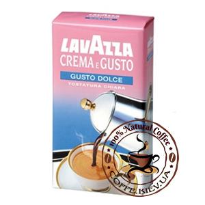 Lavazza Crema e Gusto Dolce, Молотый кофе, 250 г.