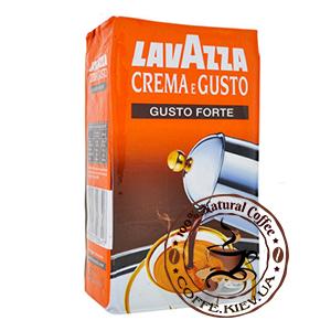Lavazza Crema e Gusto Forte, Молотый кофе, 250 г.