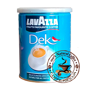 Lavazza Dek, Молотый кофе, 250 г.
