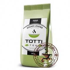 Чай черный TOTTI Tea Легендарный Ассам, листовой, 250г.