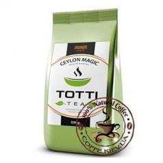Чай черный TOTTI Tea Магия Цейлона, листовой, 250г.