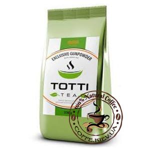 Чай зеленый TOTTI Tea Эксклюзив Ганпаудер, листовой, 250 г.