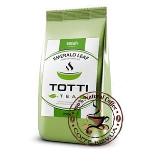 Чай зеленый TOTTI Tea Изумрудный Лист, листовой, 250г.