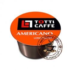 TOTTI Caffe Americano, Кофе в капсулах, 100 шт., 800 г.