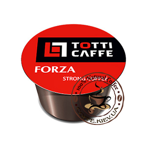 TOTTI Caffe Forza, Кофе в капсулах,100 шт.,800 г.