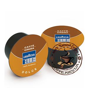 lavazza blue caffe crema dolce kofe v kapsulah 100 sht 800g
